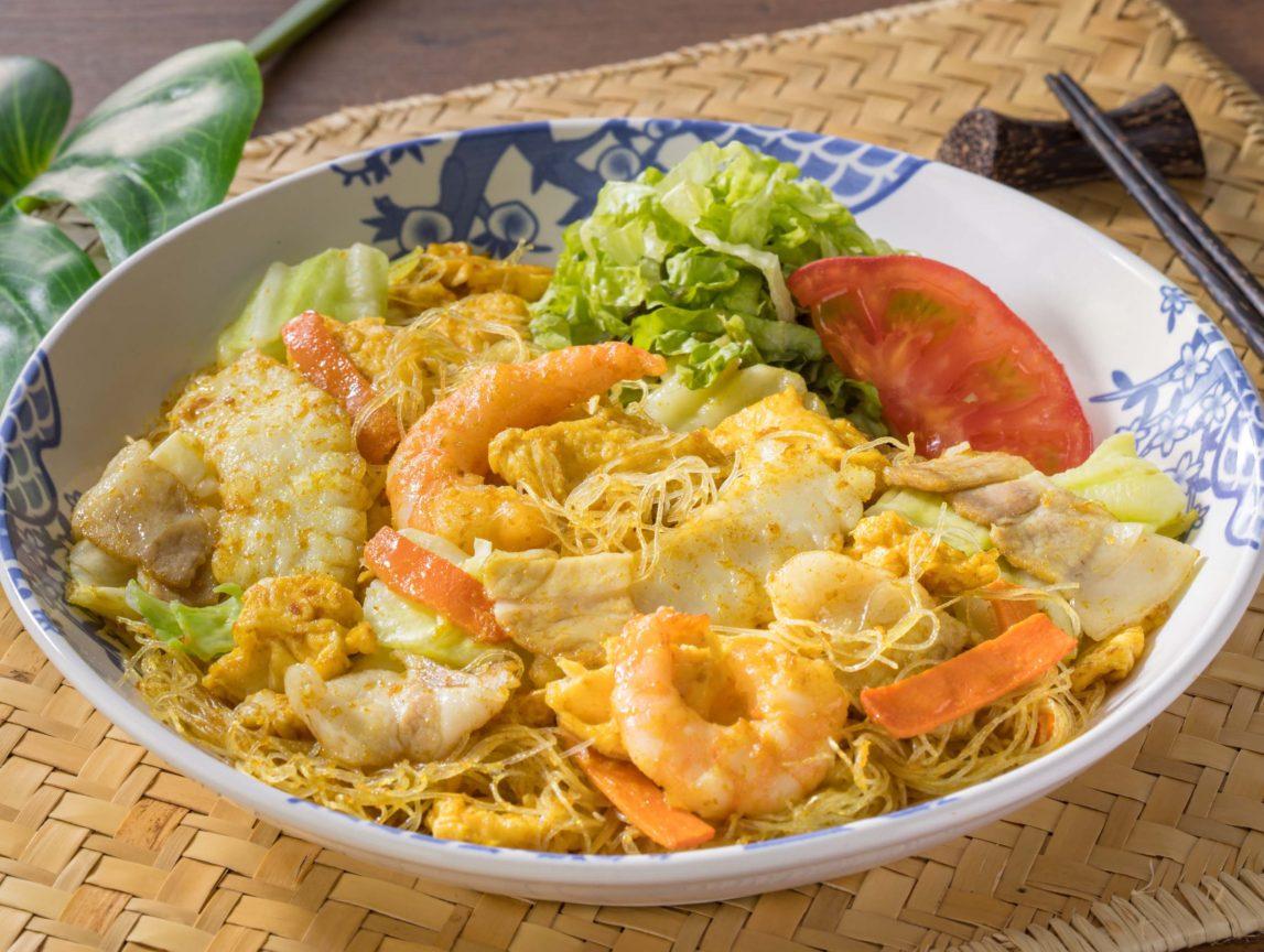 海鮮台湾カレービーフン