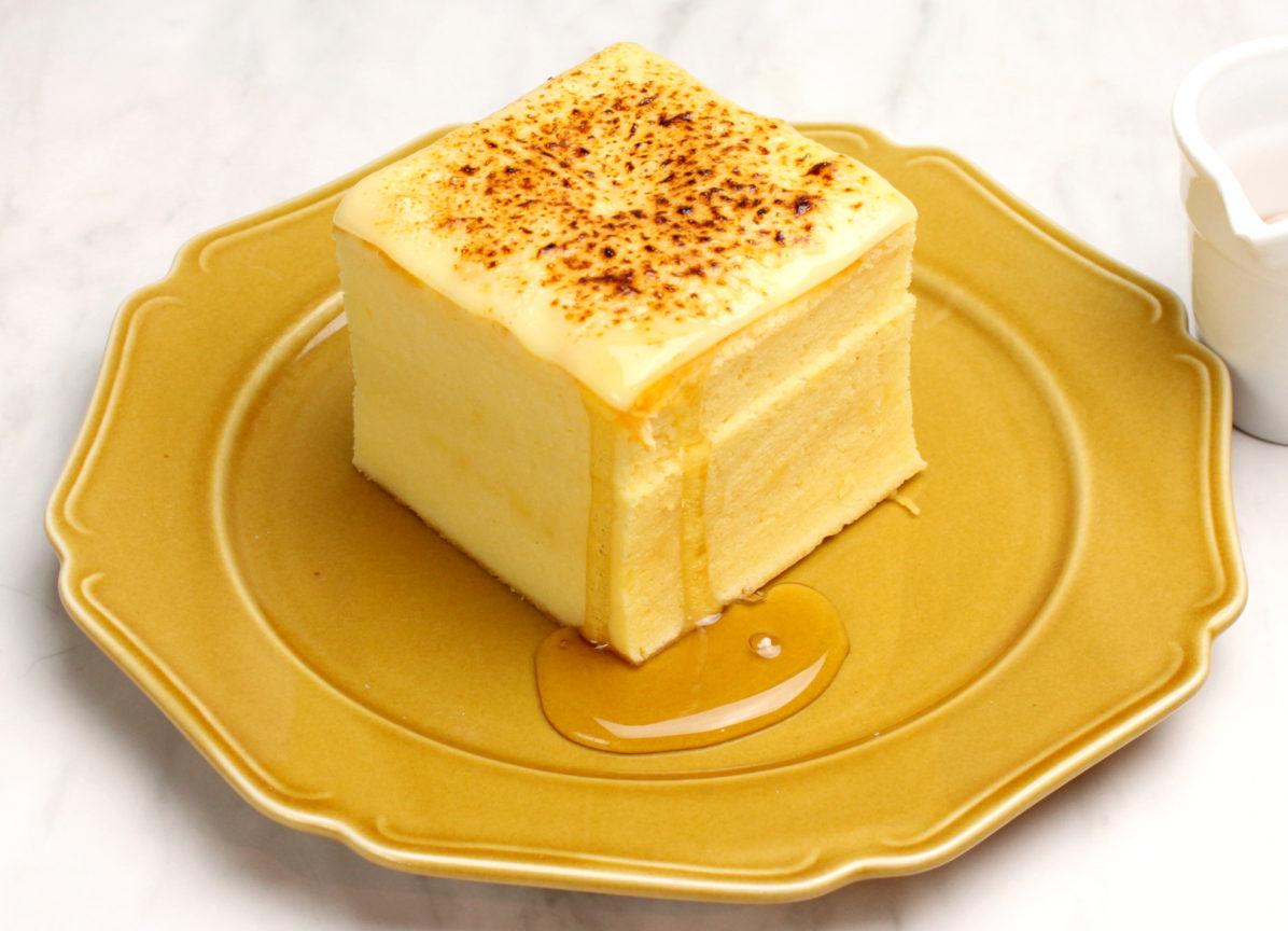 台湾カステラデコケーキ ブリュレチーズ