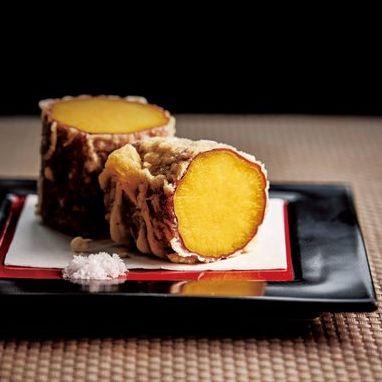 安納芋の天ぷら